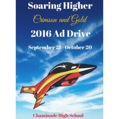 The Crimson and Gold launched the 2016 ad drive last week with the crisp, new theme