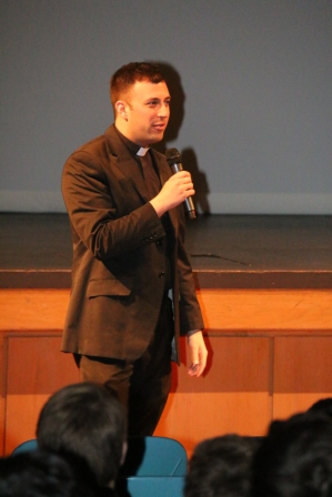 Fr. Sean Magaldi '05 shares a personal reflection on learning to see God working in the world.