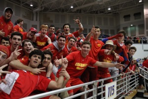 The Flyer faithful keep spirits high at Hofstra, energizing the arena in its long-anticipated and well-attended C.H.S.A.A. Final.